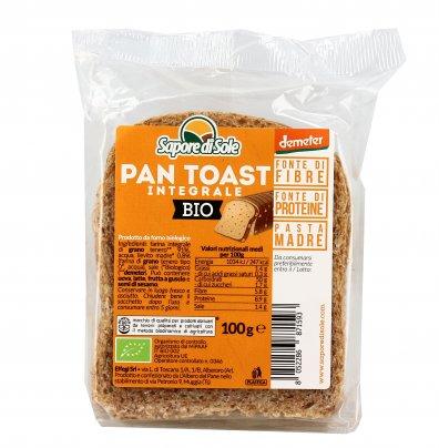 Fette di Pan Toast Integrale Bio