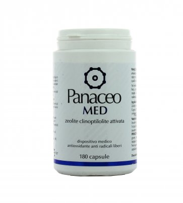 Panaceo Med - Zeolite Clinoptilolite Attivata in Capsule