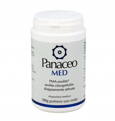 Panaceo Med - Zeolite Clinoptilolite Doppiamente Attivata - Polvere