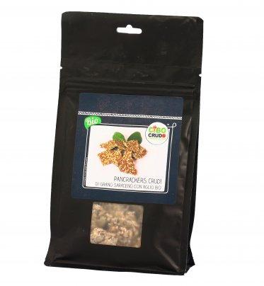 Pane Cracker al Grano Saraceno con Aglio Bio 125 gr