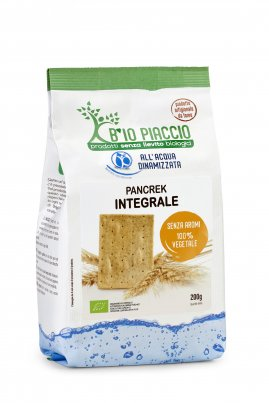 Pancrek Integrale - Crackers Senza Lievito