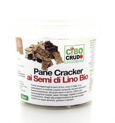 Pane Cracker ai Semi di Lino Bio 60 gr
