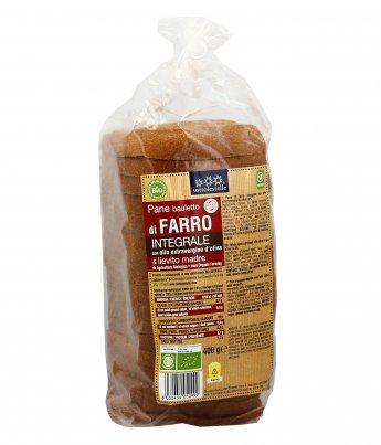 Pane in Bauletto di Farro Integrale