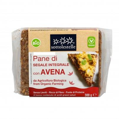 Pane di Segale Integrale con Avena Bio