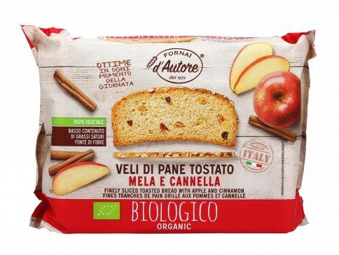 """Fette Biscottate Grano Tipo """"0"""" con Mela e Cannella"""