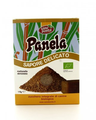 Zucchero Integrale di Canna - Sapore Delicato 1000 gr.