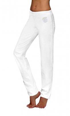 Pantaloni Lunghi Wellness - Bianchi Taglia L