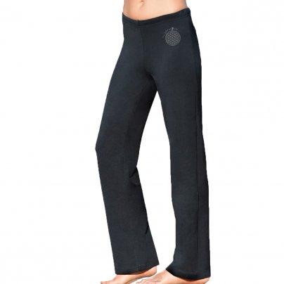 Pantaloni Lunghi Wellness Neri Taglia XXL