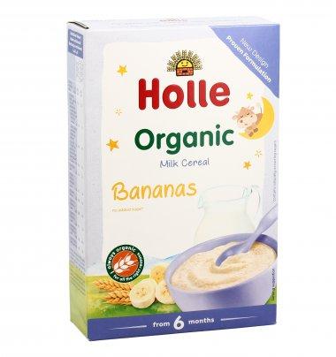 Pappa di Latte e Cereali Bio con Banana - Senza Zuccheri Aggiunti