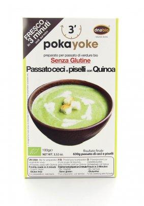 Passato di Ceci e Piselli con Quinoa Senza Glutine