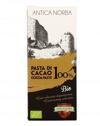 Tavoletta di Pasta di Cacao Bio 100%