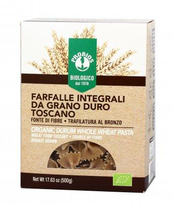 Pasta Farfalle di Grano Duro Integrale Italiano