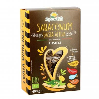 Fusilli Bio Pasta Attiva - Saracenum
