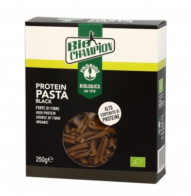 "Pasta Proteica ""Protein Black"" Senza Glutine - Bio Champion"