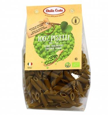 Penne Pasta 100% Piselli Verdi Bio