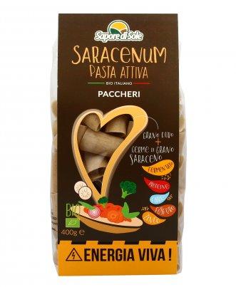 Paccheri Bio Pasta Attiva - Saracenum