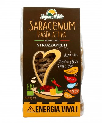 Strozzapreti Bio Pasta Attiva - Saracenum