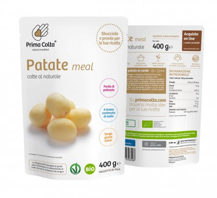 Patate Meal Cotte al Naturale