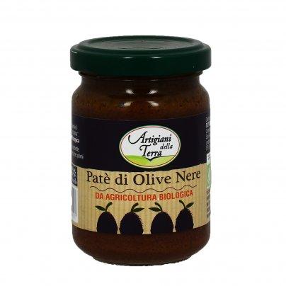"""Patè di Olive Nere """"Artigiani della Terra"""""""