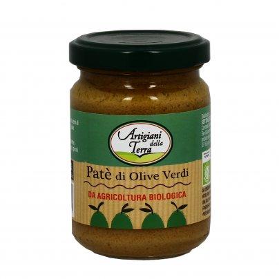 """Patè di Olive Verdi """"Artigiani della Terra"""""""