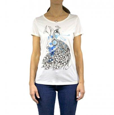 T-Shirt Donna Pavone Taglia L