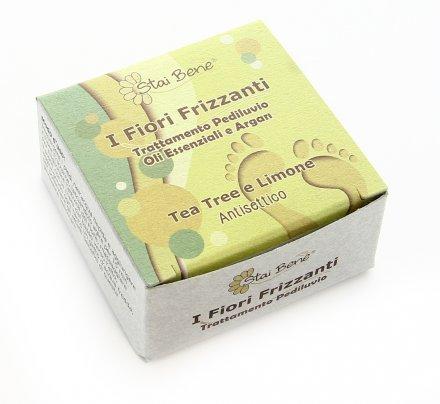 Fiore Frizzante Pediluvio - Tea Tree e Limone