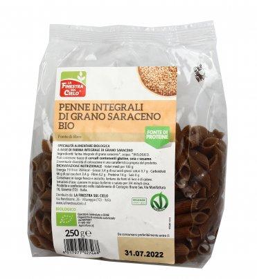 Pasta Penne Integrali di Grano Saraceno Bio