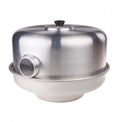 Pentola Fornetto con Occhio Alluminio Puro 30 Cm