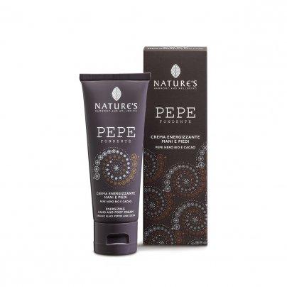 Crema Energizzante Mani e Piedi - Pepe Fondente