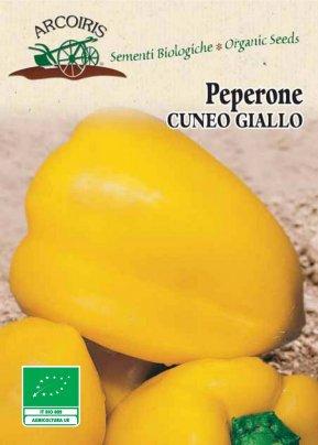 Semi di Peperone Cuneo Giallo - 70 Semi