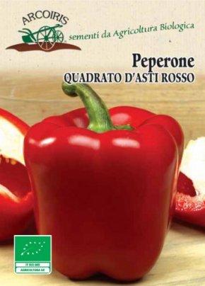 Semi di Peperone Quadrato d'Asti Rosso - 5 Gr.