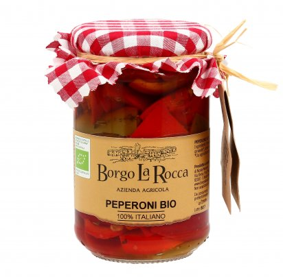Peperoni Sott'Olio Bio Italiani