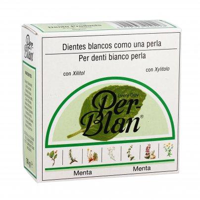 "Dentifricio in Polvere ""Perblanc"" gusto Menta"