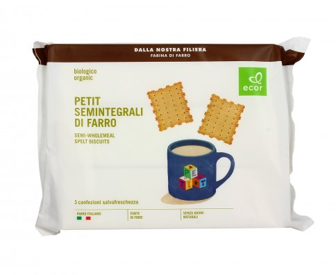 Biscotti Petit Semintegrali di Farro