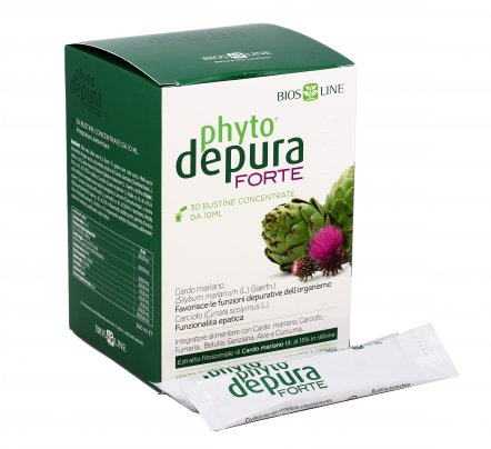 PhytoDepura® Forte Liquido 30 Bustine da 10 ml