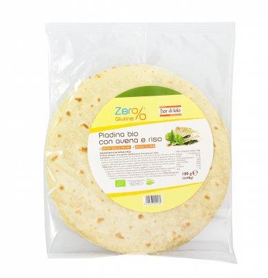 Piadina Bio con Avena e Riso - Senza Glutine