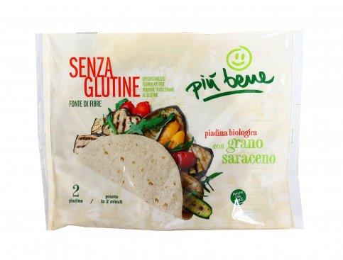 Piadina Grano Saraceno Bio - Senza Glutine