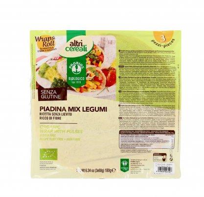 Piadina Mix di Legumi - Senza Glutine