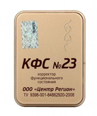 Piastra di Kolzov - N°23 - Liberazione da Blocchi Energetici (Serie Gold)