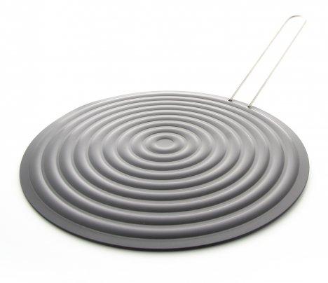Disco per la Cottura di Alimenti con Manico - Silver Grill
