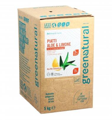 Detersivo Piatti Aloe e Limone - Eco Box Sfuso