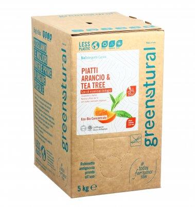 Detersivo Piatti Arancio e Tea Tree - Eco Box Sfuso