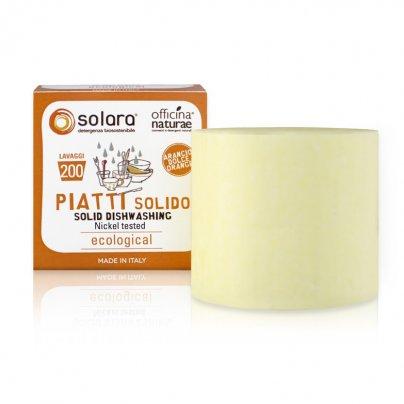 Detersivo Piatti Solido all'Arancio Dolce - Solara