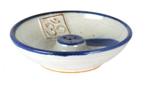 Piattino Portaincensi in Ceramica