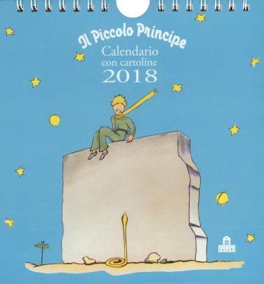 Il Piccolo Principe - Calendario da Tavolo con Cartoline 2018