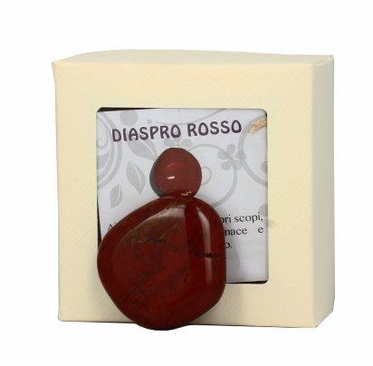 Pietre da coccolare - Diaspro Rosso