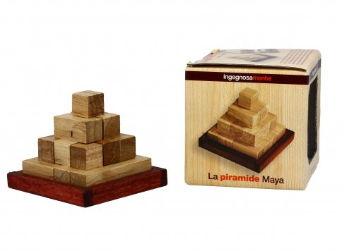 Gioco In Legno Piramide Maya
