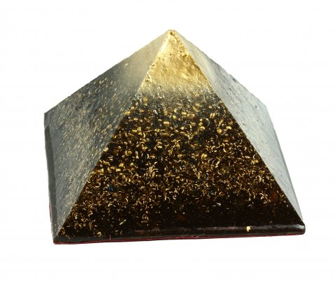 Piramide in Orgonite e Shungite - Energia di Giza 9 cm