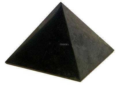 Piramide di Shungite Lucida 7 cm