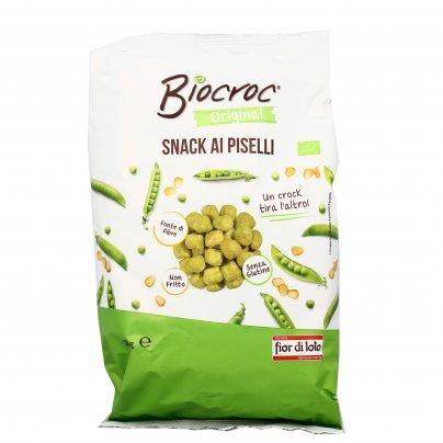 Snack di Piselli Verdi - Biocroc
